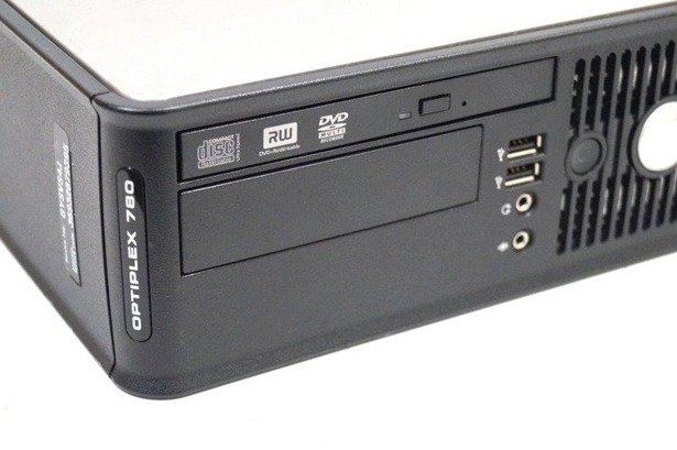 DELL 780 SFF C2D E8400 4GB 120GB SSD WIN 10 HOME
