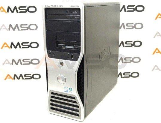 DELL Precision T3400 E8400 2x3.0GHz 4GB 500GB DVD NVS Windows 10 Professional PL