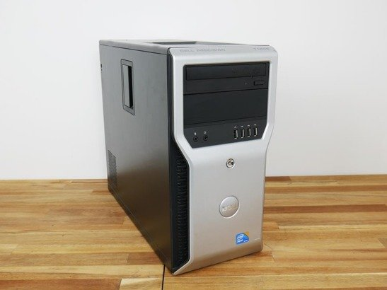 DELL T5400 X5450 8GB 500GB HDD NVS WIN 10 HOME