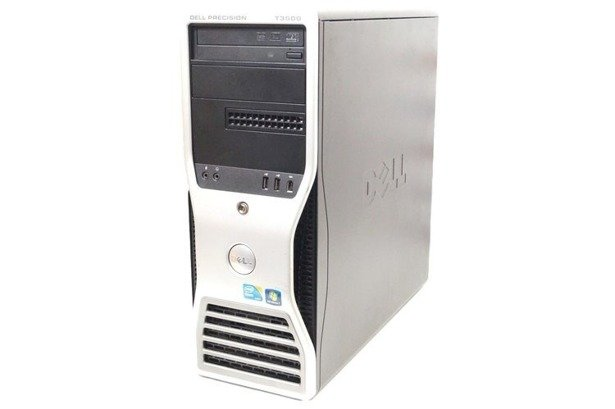 Dell Precision T3500 XEON X5650 6x2.66GHz 12GB 500GB DVD NVS Windows 10 Professional PL