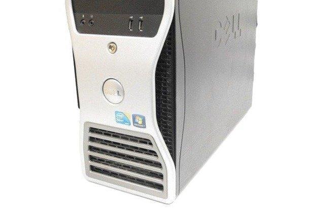 Dell Precision T5500 2xE5503 2x2.0GHz 8GB 500GB +240SSD DVD NVS Windows 10 Professional PL