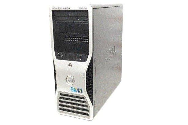 Dell Precision T5500 2xE5530 4x2.4GHz 12GB 240GB SSD DVD NVS Windows 10 Professional PL