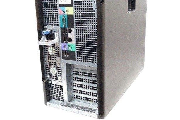 Dell Precision T7600 E5-2687W 8x3.1GHz 64GB 500GB+480SSD NVS Windows 10 Home PL