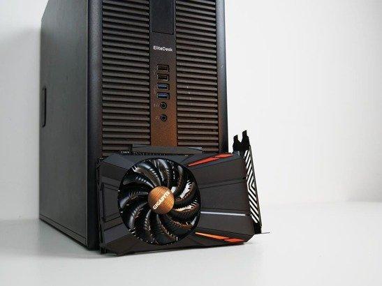 HP 800 G1 TW i5-4590 16GB 240/500GB GTX 1050Ti WIN10