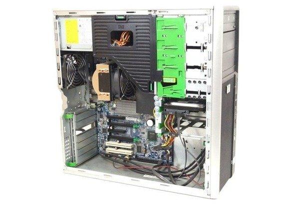 HP WorkStation Z400 W3520 4x2.66GHz 12GB 240GB SSD DVD NVS Windows 10 Professional PL