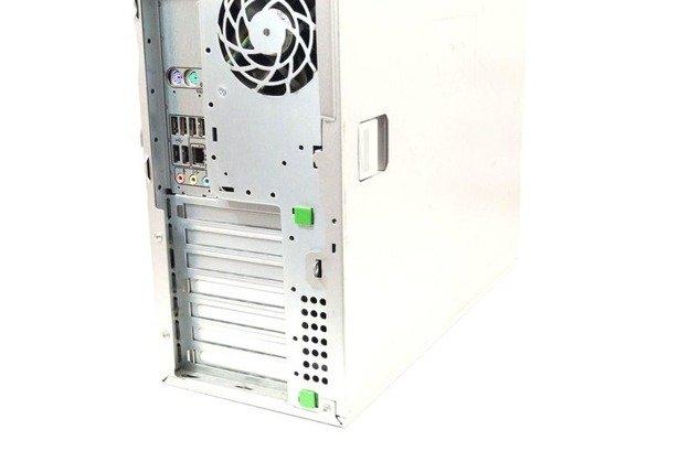 HP WorkStation Z400 W3520 4x2.66GHz 6GB 500GB DVD NVS Windows 10 Home PL