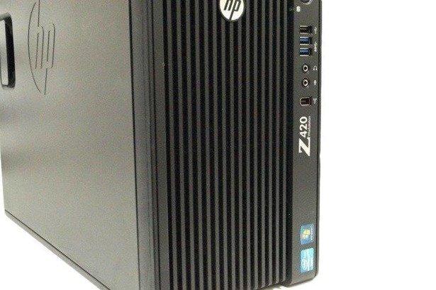 HP WorkStation Z420 TW E5-1620 4x3.6GHz 32GB 480GB SSD +GTX 1650 4GB Windows 10 Home PL DLA GRACZA