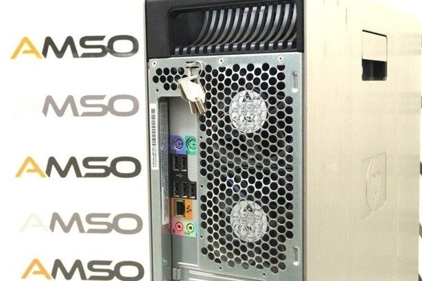 HP WorkStation Z600 E5530 4x2.4GHz 8GB 240GB SSD NVS DVD Windows 10 Professional PL Klasa A-