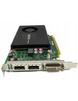 KARTA GRAFICZNA NVIDIA QUADRO K2000 2GB
