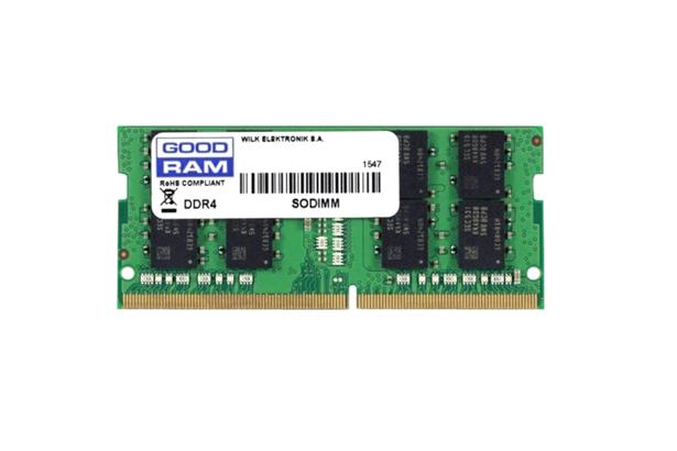 PAMIĘĆ RAM GOODRAM 16GB DDR4 2400MHz SODIMM BOX