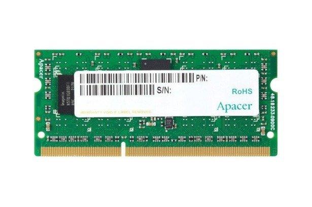 Pamięć RAM APACER 8GB DDR3 1600MHz SODIMM BOX