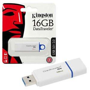 Pendrive Kingston DataTraveler G4 16GB USB 3.0